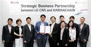KardiaChain forms a strategic business partnership with LG CNS