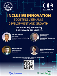 "Virtual meeting ""Inclusive Innovation to Boost Vietnam's Development and Growth"""