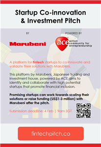 Startup Co-innovation and Investment Pitch by Marubeni