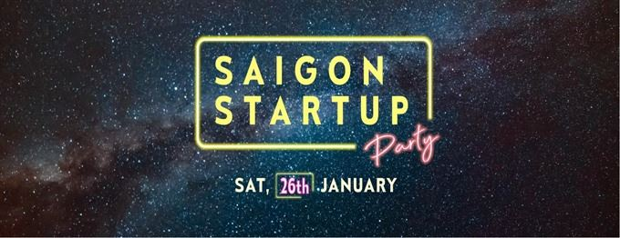 Saigon Startup Party 2019 in January